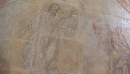 Реставраторы восстанавливают фрески из монастыря в Белыничах (видео)
