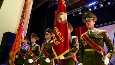 В Могилёве состоялось чествование военнослужащих и ветеранов (фото)