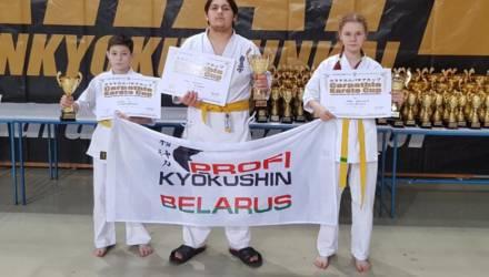 Спортсмены из Могилёва на турнире по карате в Польше завоевали три медали