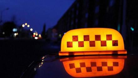 В Могилеве выпивший пассажир по окончании поездки ударил таксиста