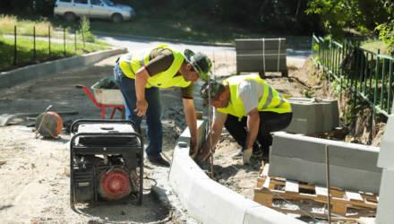 Дворовые территории в границах улиц Терехина и Златоустовского Могилева благоустроят в текущем году