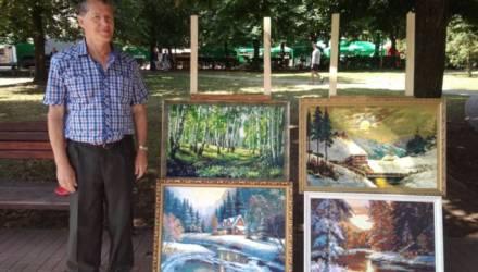 Выставка работ бобруйских мастеров проходит в Светлогорске