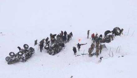Число жертв схода лавины на востоке Турции возросло до 33