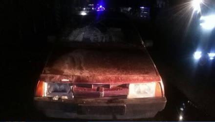 В Столинском районе 16-летний подросток сбил на авто двоих школьников