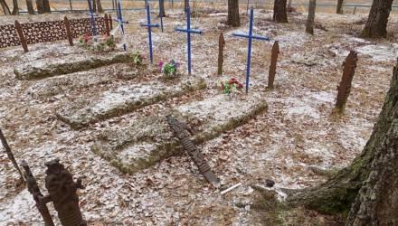 Два жителя Славгорода обворовывали могилы в четырех районах. На этом «заработали» 9,5 тысячи рублей