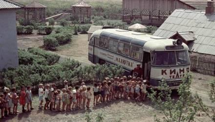 «Назад в СССР»: Как в 1970-1980-е в Могилеве мультики в автобусах крутили (видео)