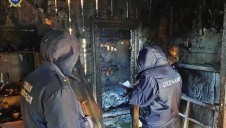 В Кировске на пожаре погибли два человека. Ведётся следствие