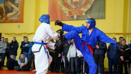 Чемпионат МВД по рукопашному бою прошел в Могилеве (фото)