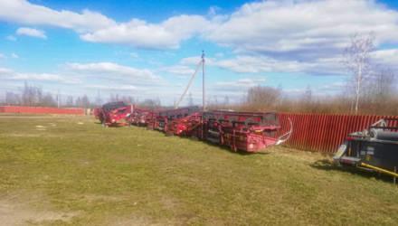 Работников хозяйства в Быховском районе подозревают в хищении деталей с комбайнов