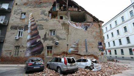 Землетрясение в Загребе оказалось сильнейшим за последние 140 лет