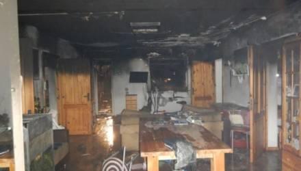 Дом в «SOS-Детская деревня» горел в Могилеве
