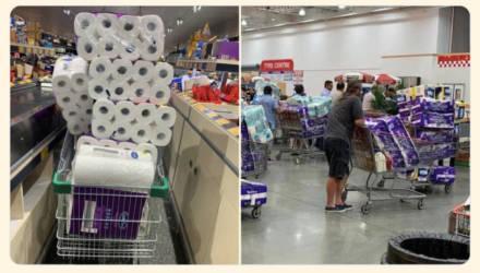 В Австралии массово скупают туалетную бумагу. Местная газета издала выпуск с дополнительными страницами