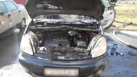 В Могилеве автовладелец тушил свой Citroën и получил ожоги
