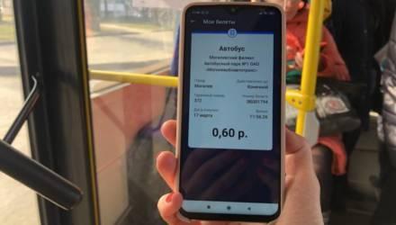 Оплатить проезд смартфоном теперь можно в транспорте Могилева. Как это работает