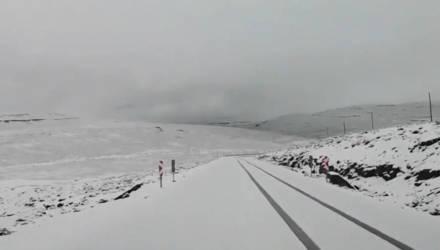 В Африке выпал снег – высота сугробов достигала 10 сантиметров