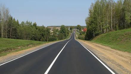 Дорожную разметку обновляют по всей Могилевской области