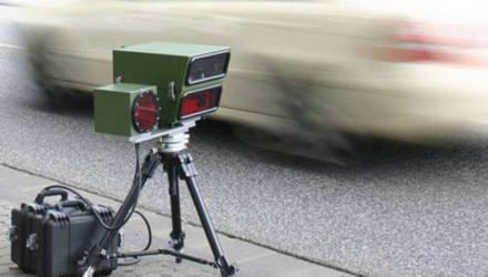 О местах установки датчиков контроля скорости по Могилеву рассказали в ГАИ