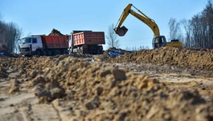 В Бобруйске возобновились работы по продлению проспекта Строителей