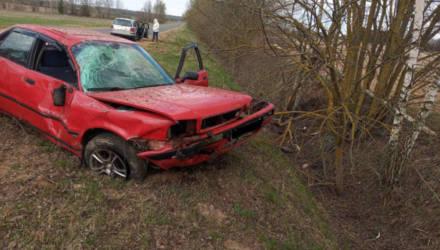 ДТП в Быховском районе: опрокинулся автомобиль