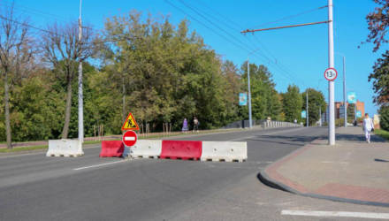 Перекроют движение троллейбусов через мост по улице Первомайской в Могилеве