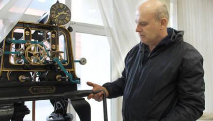 Башенные часы с вековой историей экспонируются в Могилеве