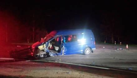 По вине нетрезвого водителя произошло лобовое столкновение машин в Могилевском районе