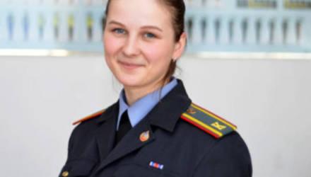 Выпускница Могилевского института МВД: «Первые мысли пойти на службу в органы внутренних дел появились еще в 7 классе»