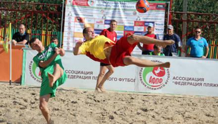 Кировск в конце июля будет принимать суперфинал чемпионата Беларуси по пляжному футболу
