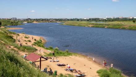 В Могилеве к летнему сезону благоустроены пять пляжей