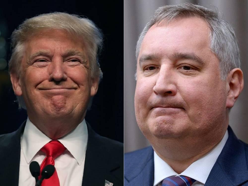 Трамп анонсировал «супер-пупер-ракету», насмешив Рогозина и став мемом в Сети (фото)