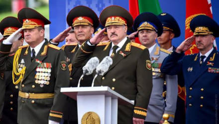 Лукашенко заявил, что после парада в Минске значительно упала заболеваемость пневмониями