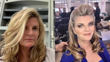Ведущая решила не мыть волосы на карантине и спустя 1,5 месяца показала, что с ними стало