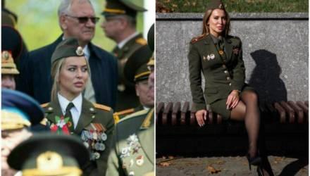 Ещё раз о девушке на VIP-трибуне парада в Минске. Она родом с Могилевщины