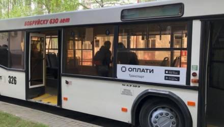 В транспорте Бобруйска стала возможной оплата проезда по QR коду