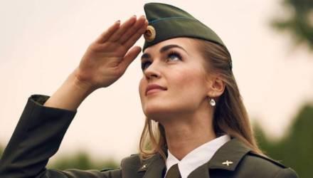 Не только майор Алексеева. Красавицы, которые служат в Вооруженных Силах Беларуси