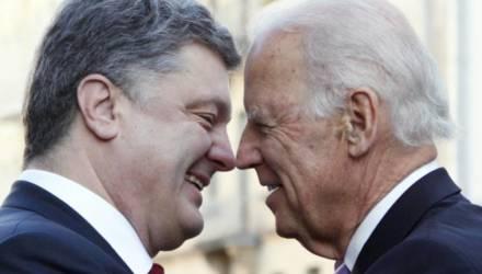 Опубликована запись переговоров Порошенко и Байдена о миллиардной взятке