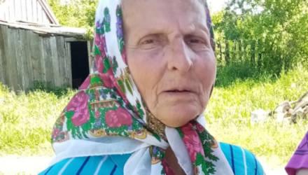 Под Могилевом пять дней назад пропала 77-летняя женщина. Может, вы ее видели?