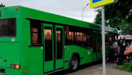 Ребенок-велосипедист попал под автобус в Бобруйске
