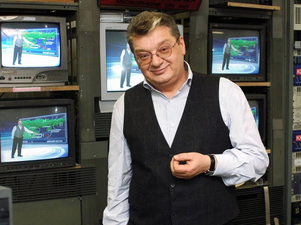 Умер ведущий прогноза погоды Александр Беляев