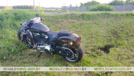 В Могилевском районе мужчина на Harley-Davidson сбил пешехода