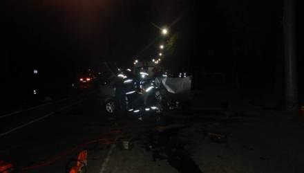 Смертельное ДТП произошло в Могилеве ночью — погибла 27-летняя пассажирка авто