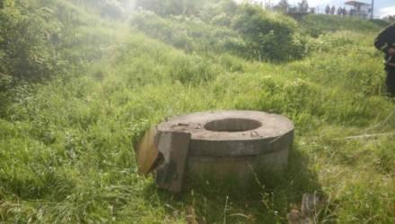 В Могилеве в канализационный колодец упал 11-летний ребенок