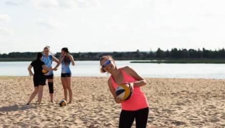 В Могилеве прошел турнир по пляжному волейболу