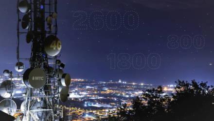 МТС «прокачал» 4G в Могилеве и других городах области